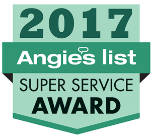 Columbia Electric Service Angie's Super Service Award 2017