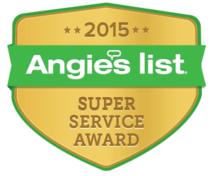 Columbia Electric Service Angie's Super Service Award 2015