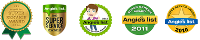Columbia Electric Service Angie's List Super Service Award: 2010, 2011, 2012, 2013, 2014, 2015